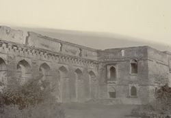 Hindola Mahal from the West, [Mandu]